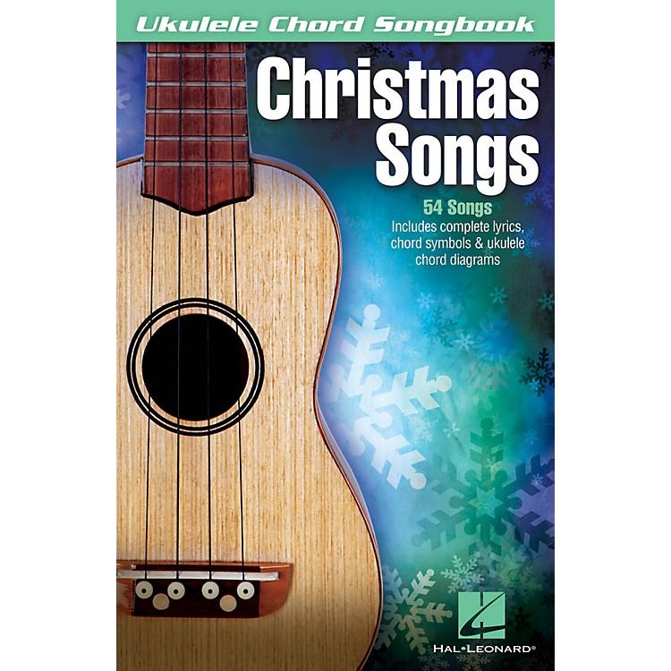 Hal LeonardChristmas Songs Ukulele Chord Songbook
