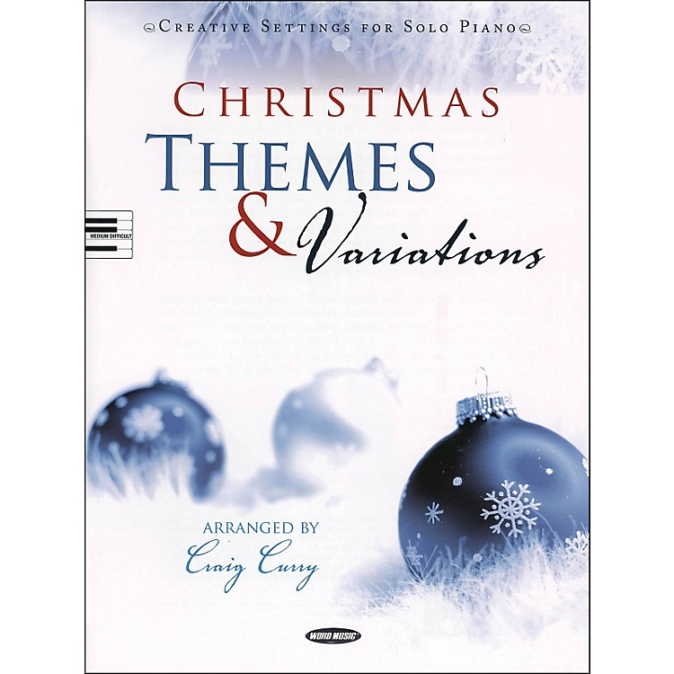 Word MusicChristmas Themes & Variations: Creative Settings for Solo Piano