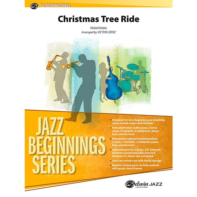 Alfred Christmas Tree Ride Jazz Band Grade 1