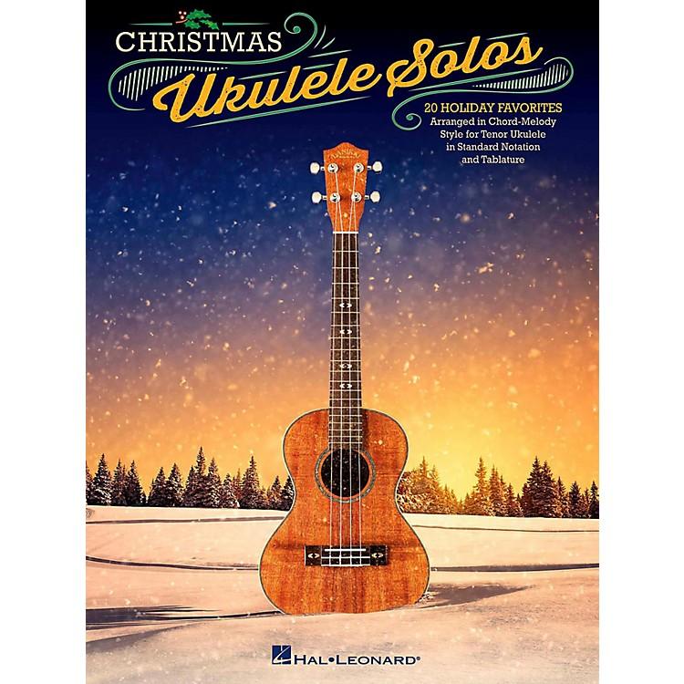 Hal LeonardChristmas Ukulele Solos - 20 Holiday Favorites Arranged in Chord-Melody Style For Tenor Uke