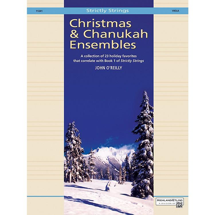 AlfredChristmas and Chanukah Ensembles Viola