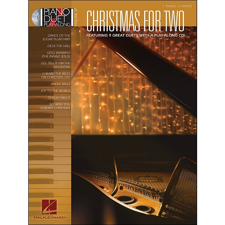 Hal LeonardChristmas for Two - Piano Duet Play-Along Volume 37 (Book/CD)