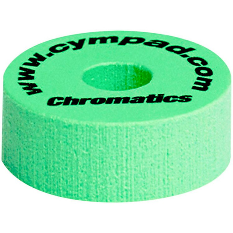 CympadChromatics Foam Cymbal Washer 5-Piece Crash SetGreen