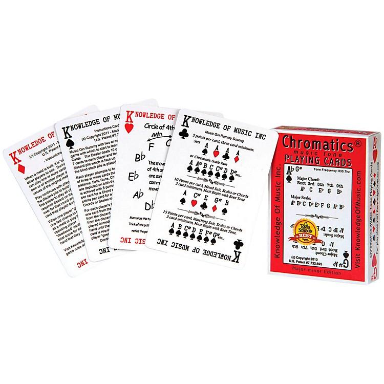 Hal LeonardChromatics Music Playing Card Deck