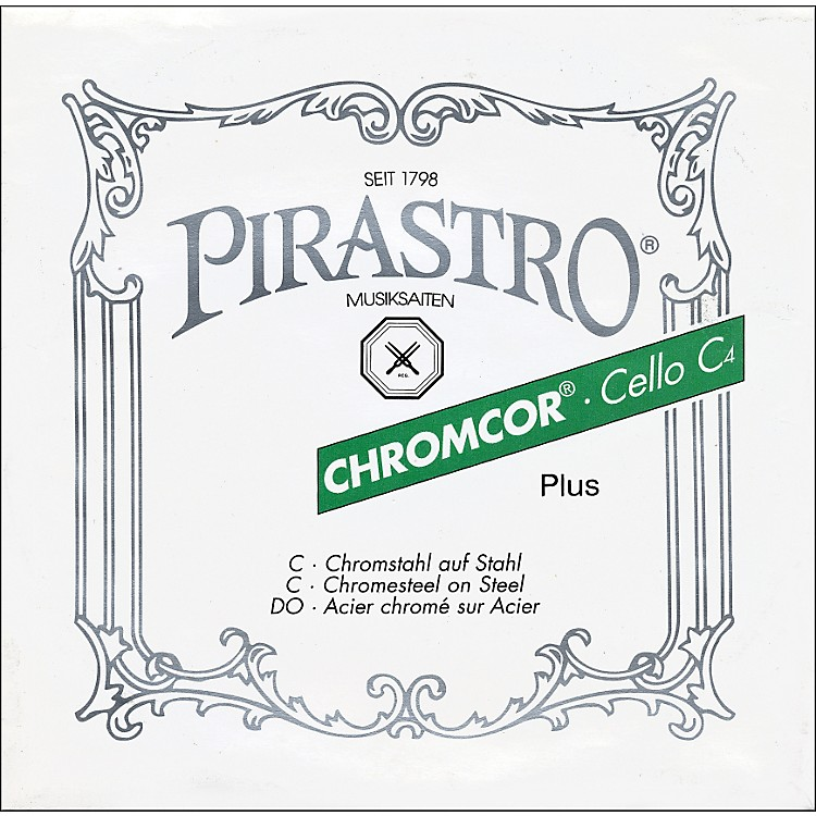 Pirastro Chromcor Plus 4/4 Size Cello Strings