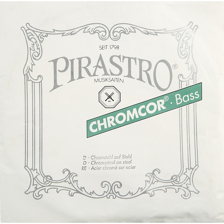 Pirastro Chromcor Series Double Bass D String 3/4-1/2