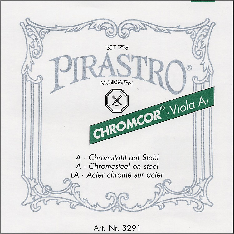 Pirastro Chromcor Series Viola String Set 16.5-16-15.5-15-in.