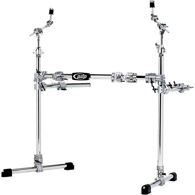 PDPChrome Plated Drum and Cymbal Rack Package