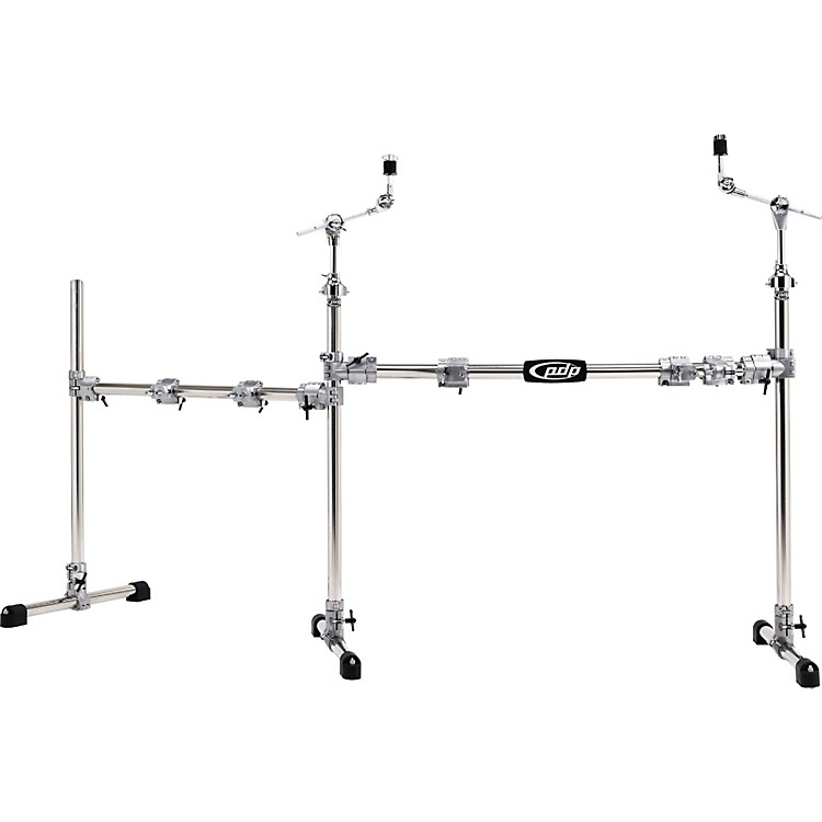 PDPChrome Plated Main and Side Drum Rack Package