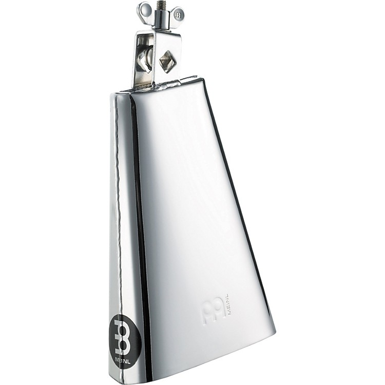 Meinl Chrome Steelbell Cowbell - Small Mouth  8 Inches