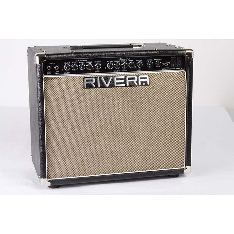 Rivera Chubster 40 40W 1x12 Tube Guitar Combo Amp Black 886830554186