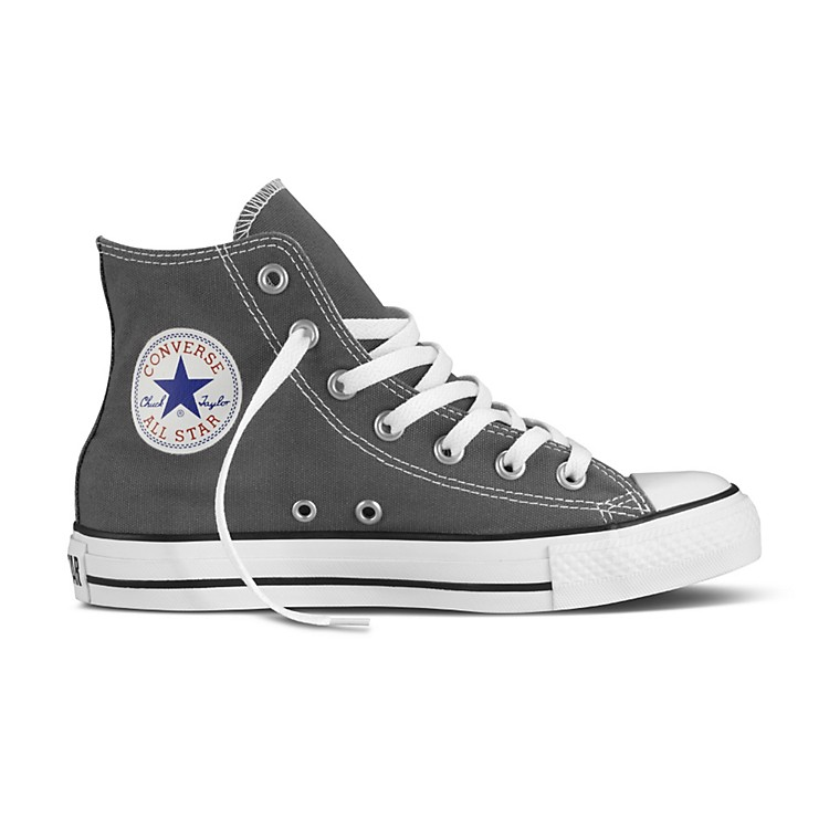 Converse Chuck Taylor All Star Core Hi-Top Charcoal Mens Size 6
