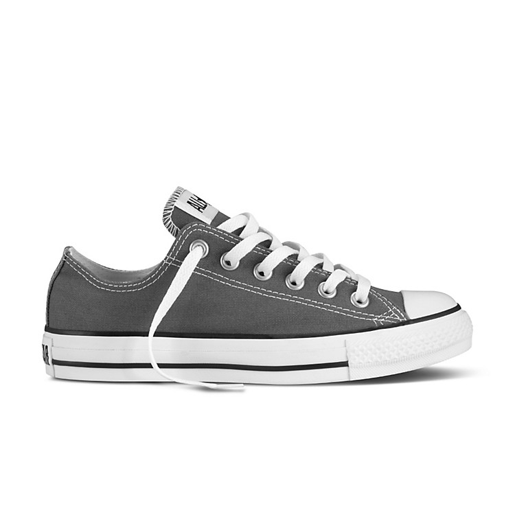 Converse Chuck Taylor All Star Core Oxford Low-Top Charcoal Men's Size 8