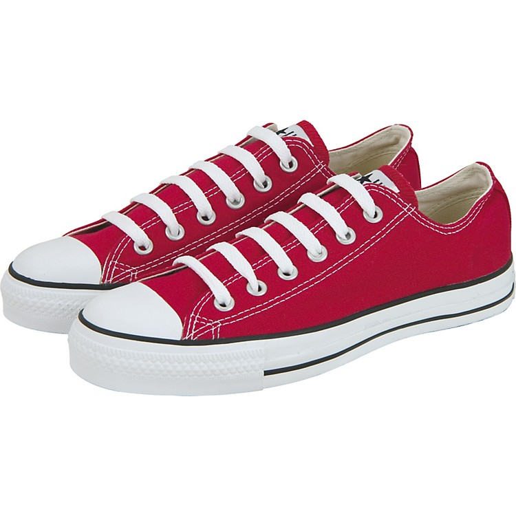 Converse Chuck Taylor All Star Core Oxford Low-Top Red Men's Size 10