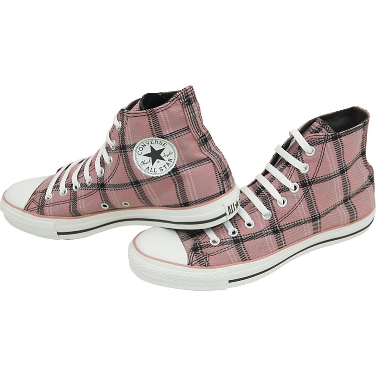 Converse Chuck Taylor All Star Grunge Plaid Hi Top Shoe  10