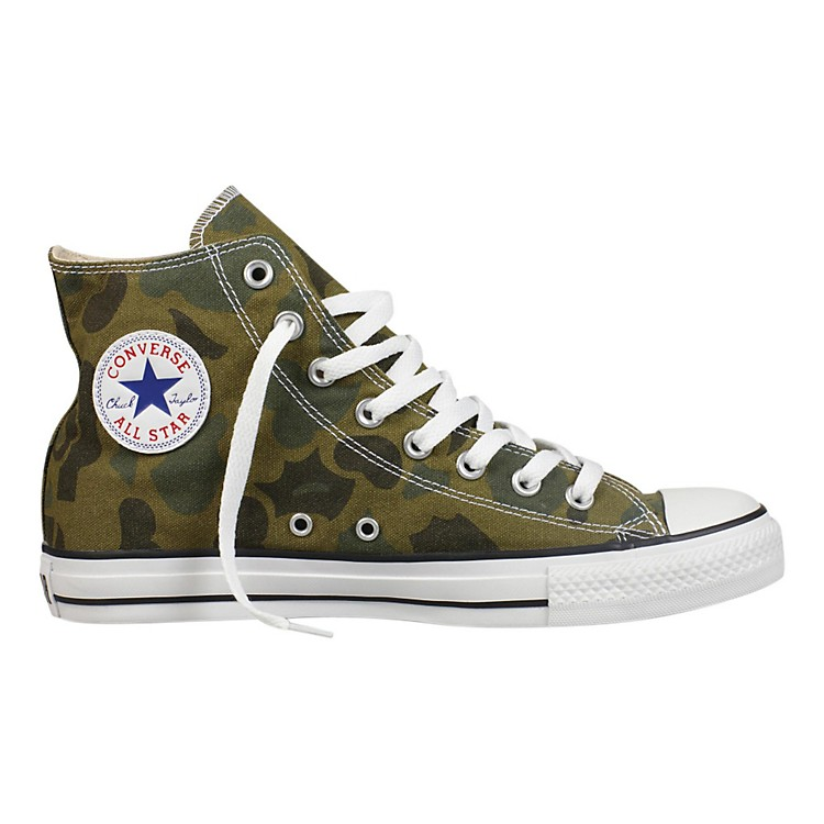 Converse Chuck Taylor All Star Hi - Olive Branch Camo Men's Size 9