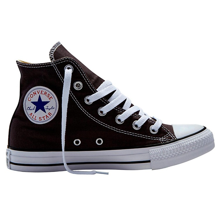 Converse Chuck Taylor All Star Hi Top Dusk Grey Charcoal 7.5