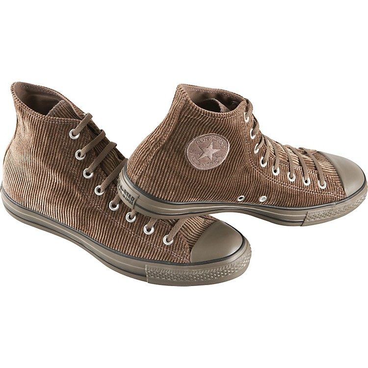 Converse Chuck Taylor All Star High Top Corduroy Shoes Brown 13