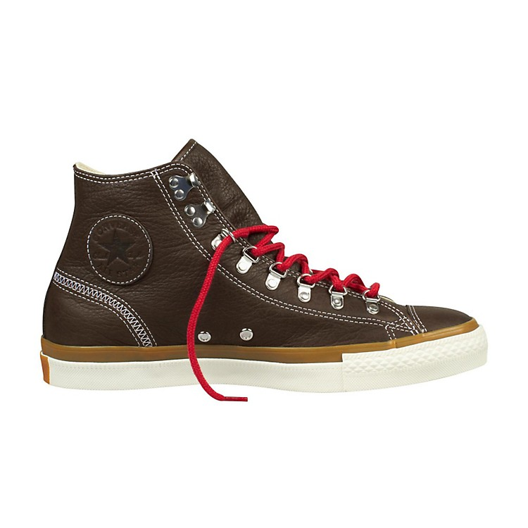 Converse Chuck Taylor All Star Hiker Leather High-Top Chocolate Men's Size 13