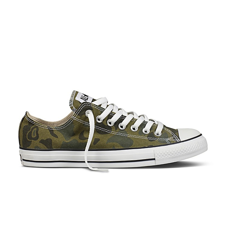 Converse Chuck Taylor All Star Ox- Olive Branch Camo Size 12
