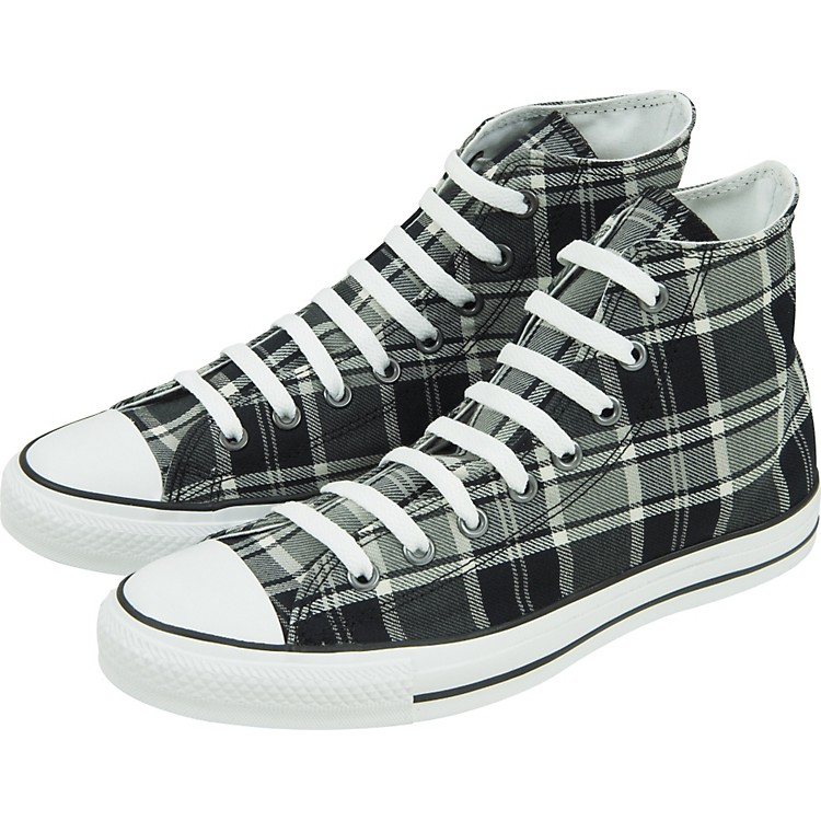 Converse Chuck Taylor All Star Plaid Hi-Top Sneakers