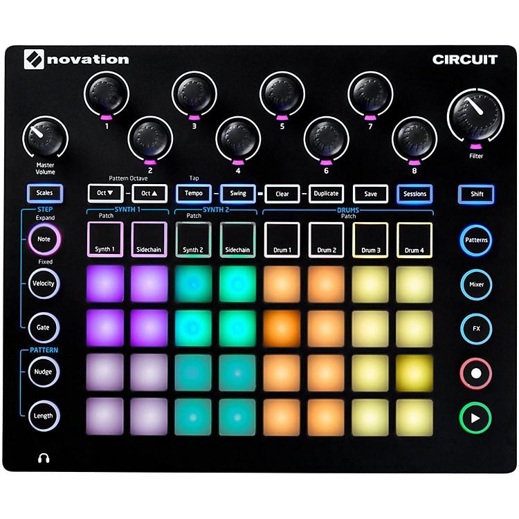 NovationCircuit Groove Box + Sample Import
