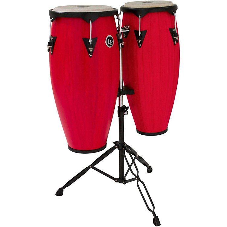 LPCity Conga Set with StandRed