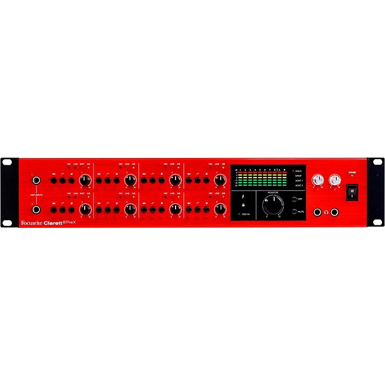FocusriteClarett 8PreX Thunderbolt Audio Interface