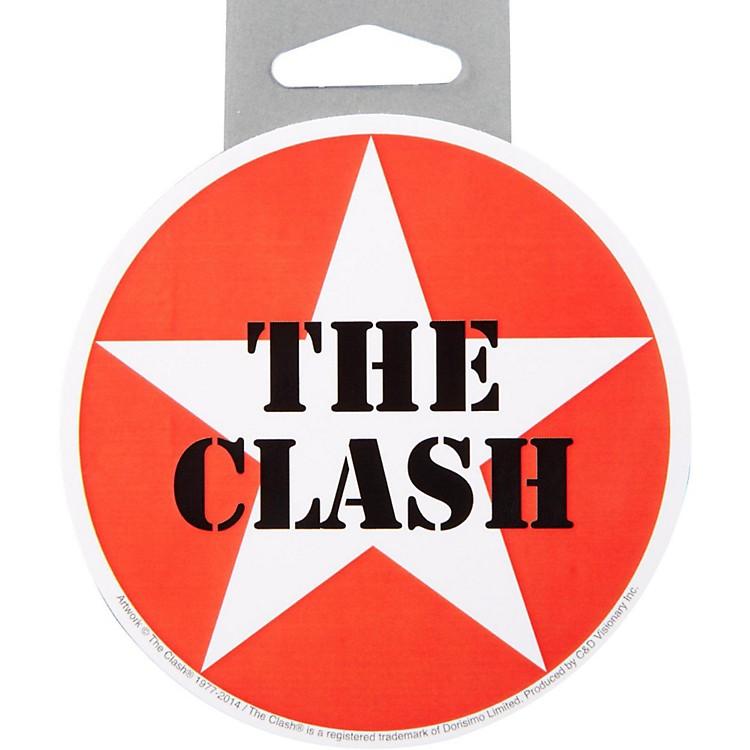 C&D VisionaryClash Star Logo Sticker
