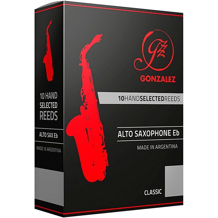 GonzalezClassic Alto Saxophone Reeds Box of 10Strength 2