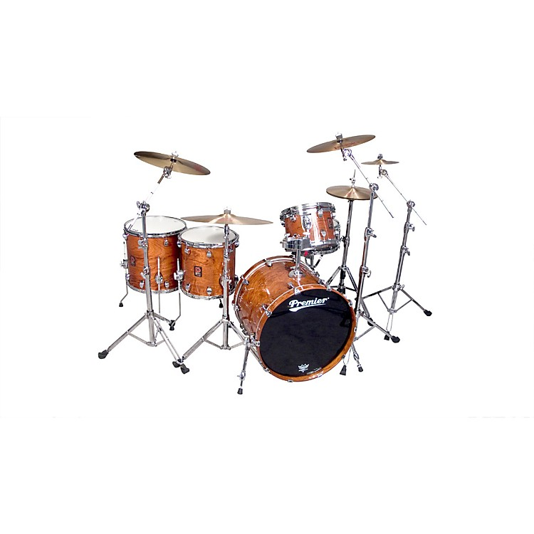 Premier Classic Bubinga Elite 22 5-Piece Shell Pack Natural Bubinga