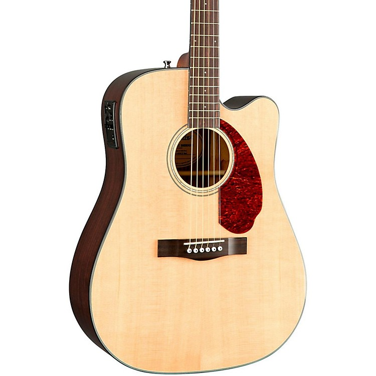 Fender classic design series cd 140sce cutaway dreadnought for Acoustic guitar decoration