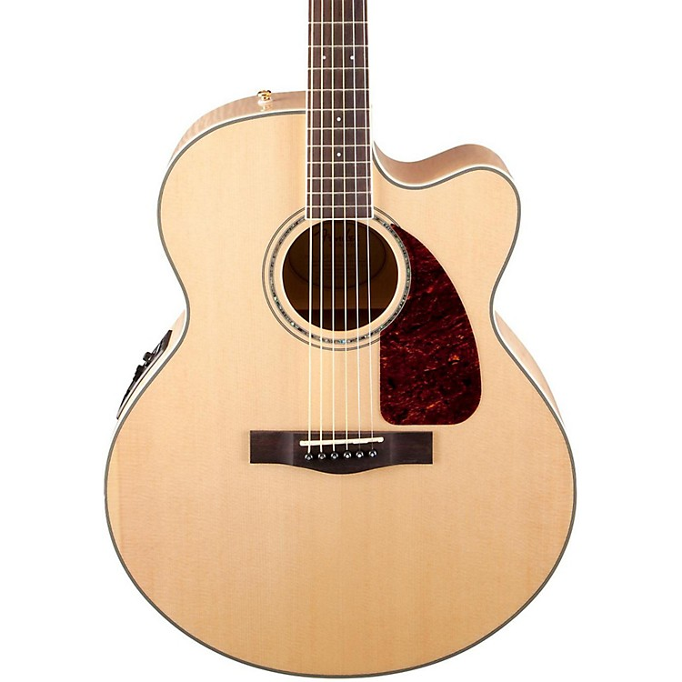 Fender Classic Design Series CJ-290SCE Cutaway Jumbo Acoustic-Electric Guitar
