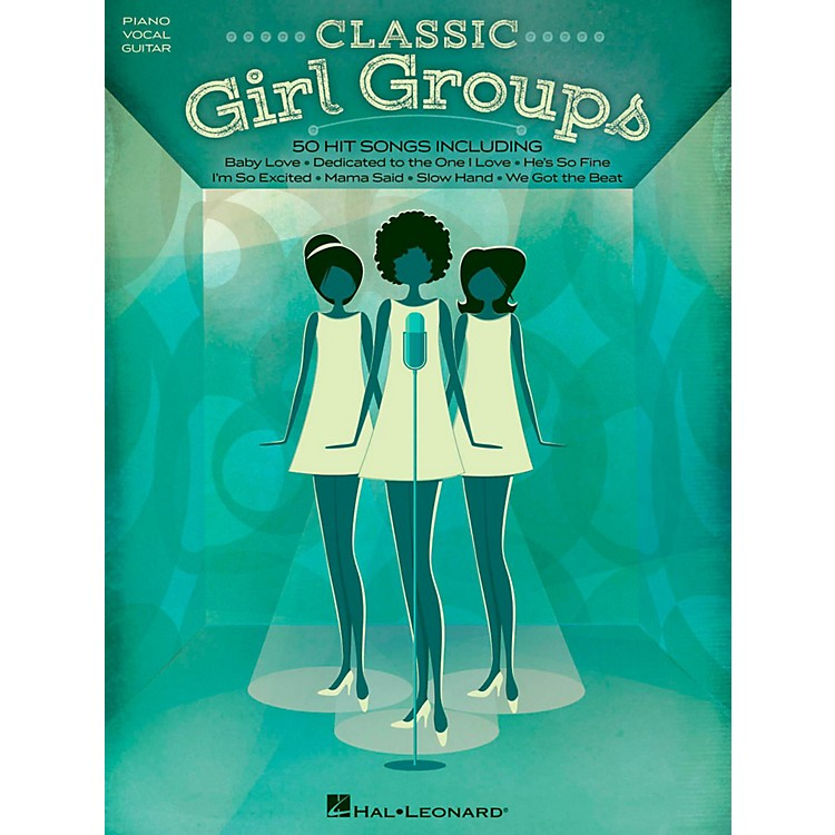Hal LeonardClassic Girl Groups for Piano/Vocal/Guitar