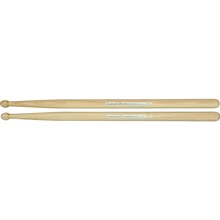 SilverFox Classic Hickory Marching Sticks 3S Wood Tip