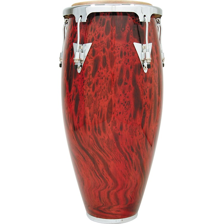 LP Classic II Conga 11.75 Inch with Chrome Hardware Lava Red