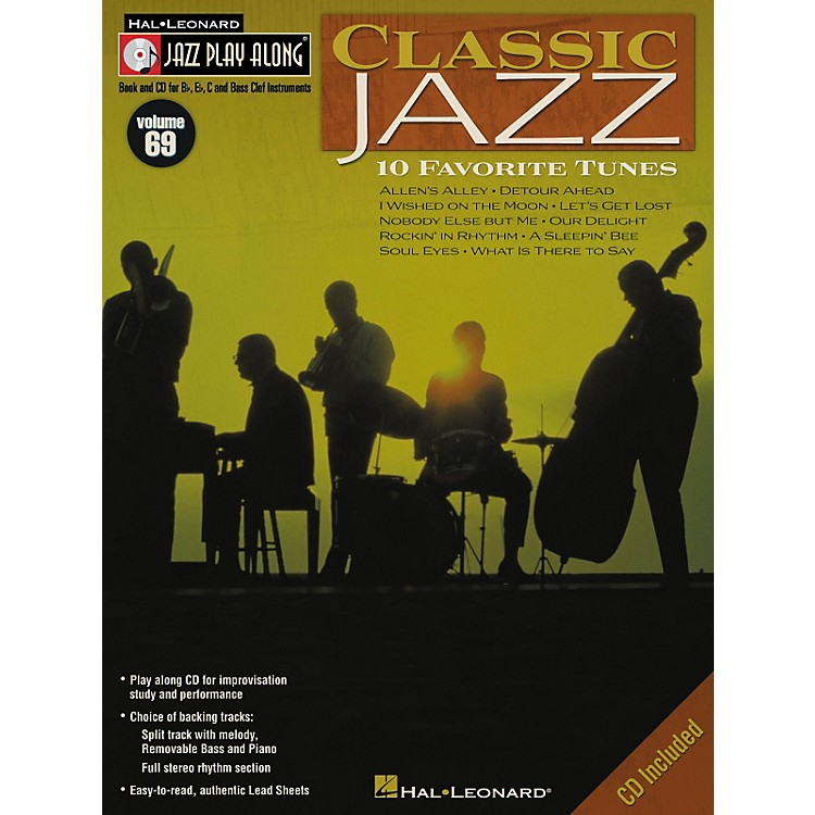 Hal LeonardClassic Jazz - Jazz Play Along Volume 69 Book with CD