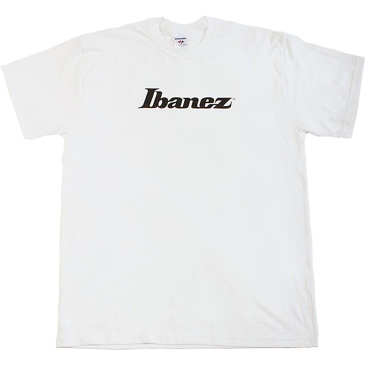 IbanezClassic Logo T-ShirtWhiteL