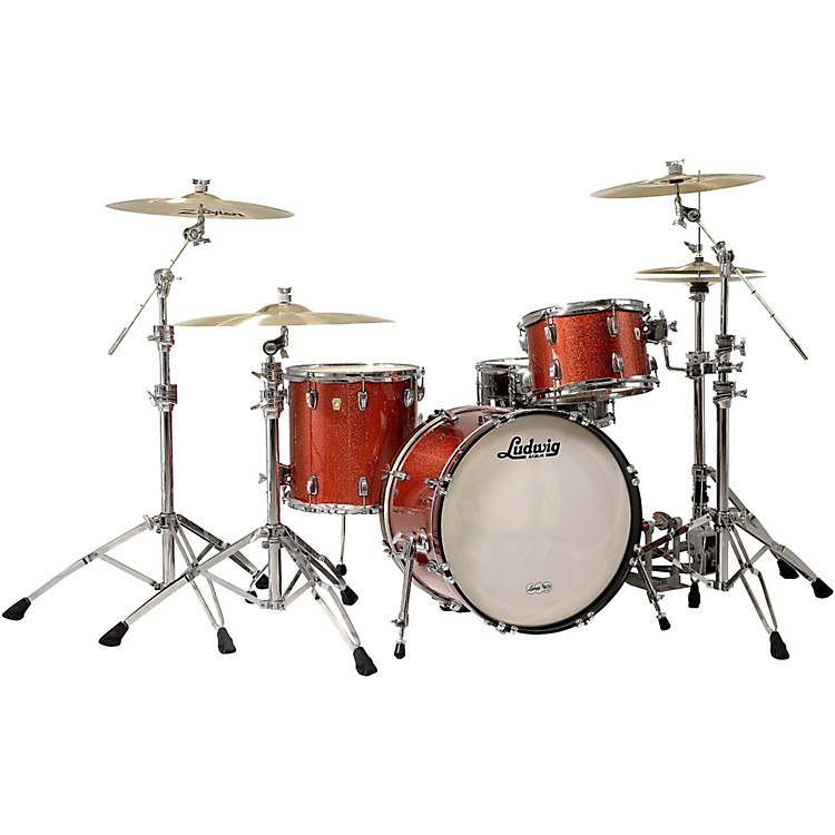 LudwigClassic Maple 3-Piece Shell Pack with 20
