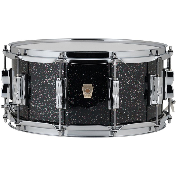 Ludwig Classic Maple Snare Drum 14 x 6.5 in. Black Galaxy