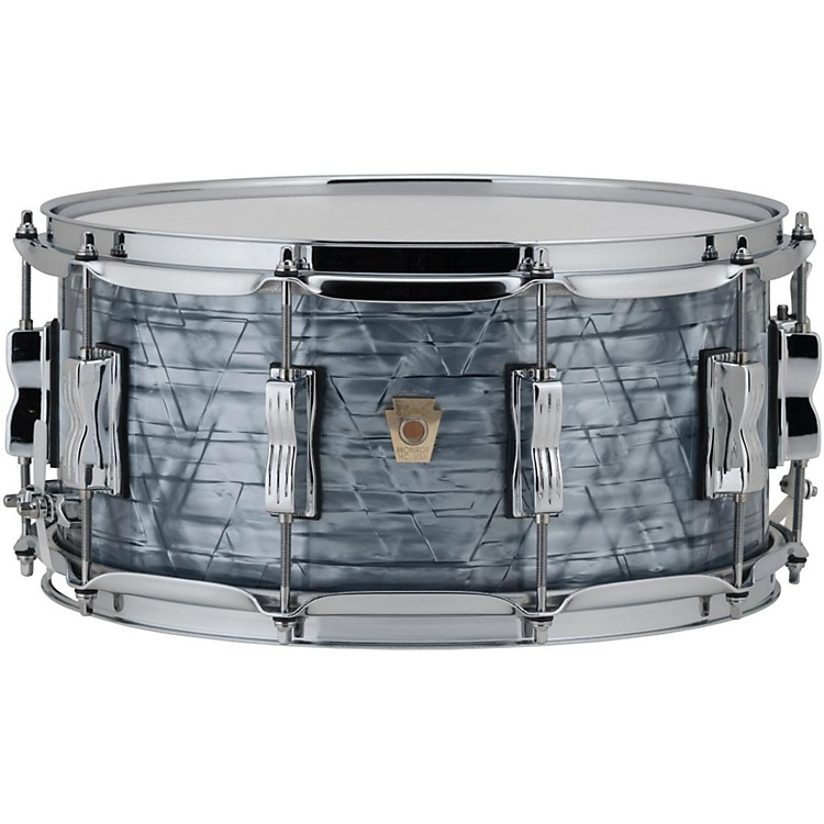 LudwigClassic Maple Snare Drum14 x 6.5 in.Sky Blue Pearl