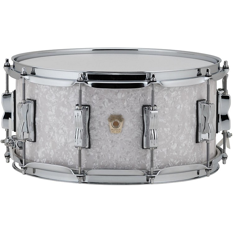 Ludwig Classic Maple Snare Drum 14 x 6.5 in. White Marine Pearl