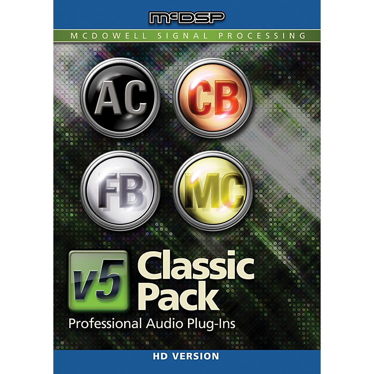 McDSPClassic Pack HD v5Software Download