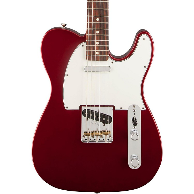 FenderClassic Player Baja 60's Telecaster Rosewood Fingerboard Electric GuitarCandy Apple Red
