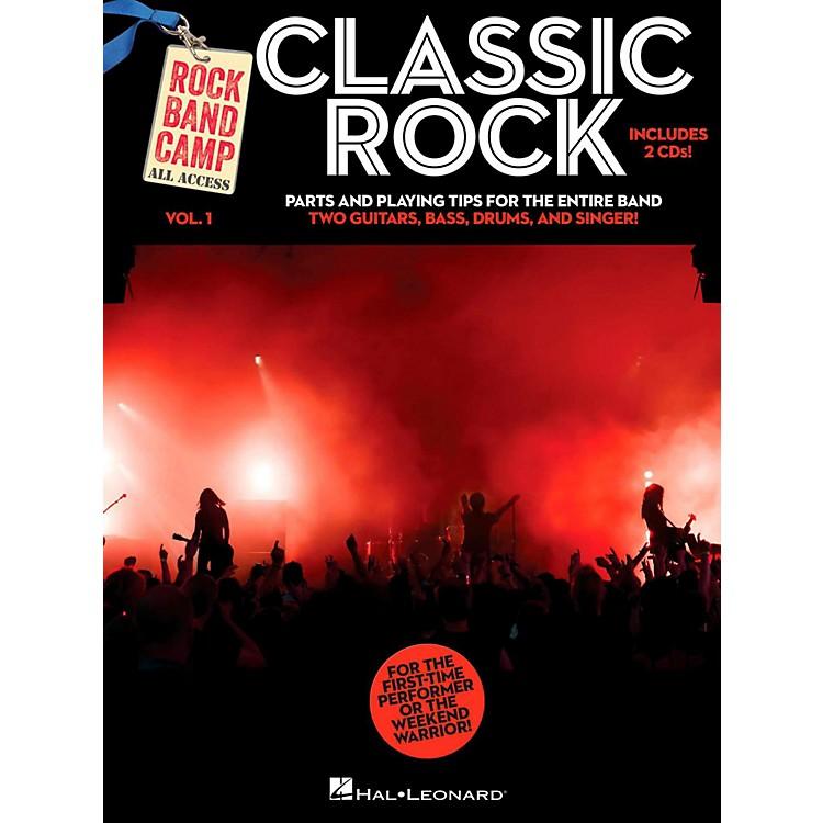 Hal LeonardClassic Rock - Rock Band Camp Vol. 1 (Book/2-CD Pack) Vocal, 2 Guitars, Bass, Drums