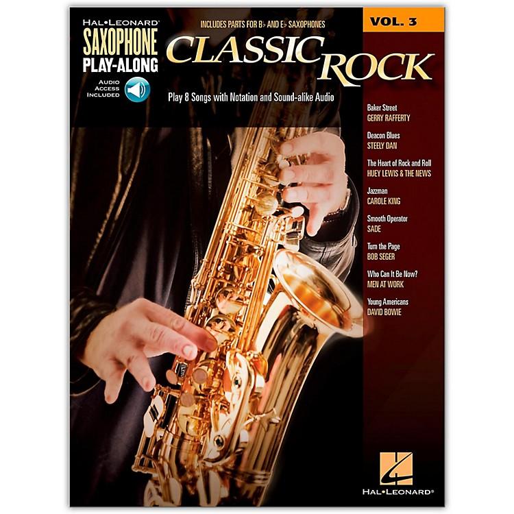 Hal LeonardClassic Rock - Saxophone Play-Along Vol. 3 Book/CD