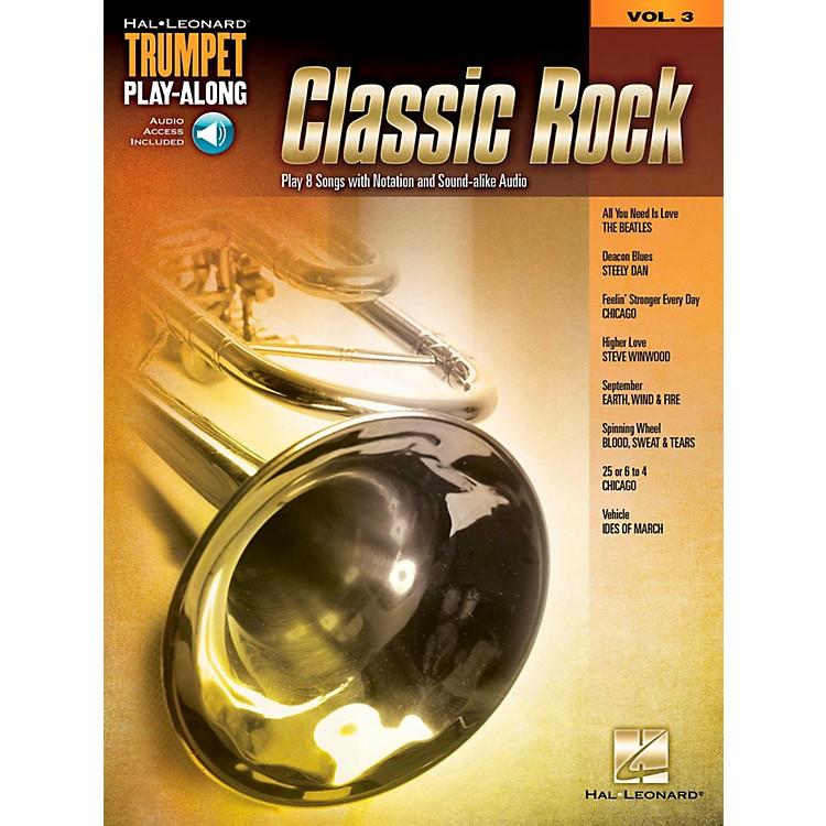 Hal LeonardClassic Rock - Trumpet Play-Along Volume 3 Book/Audio Online
