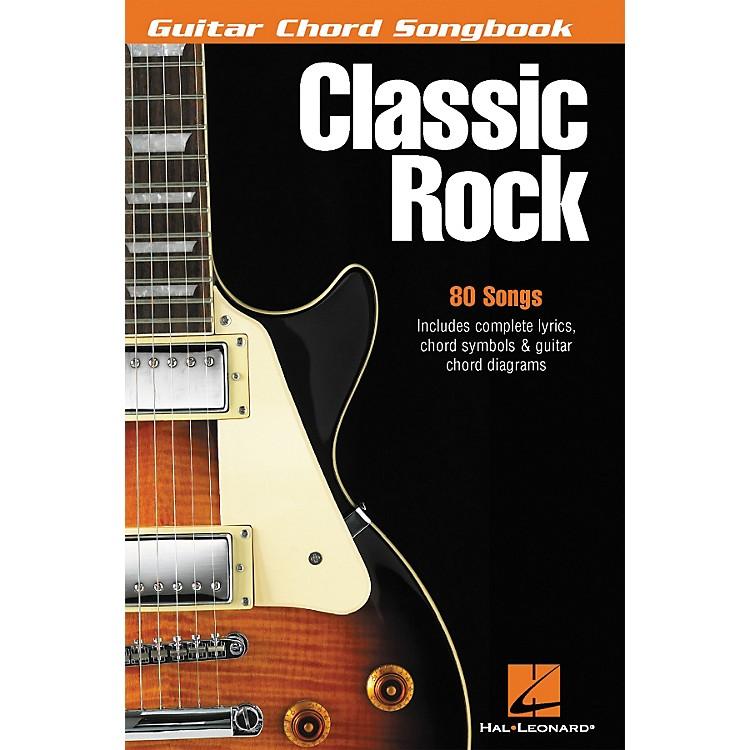 Hal LeonardClassic Rock Guitar Chord Songbook