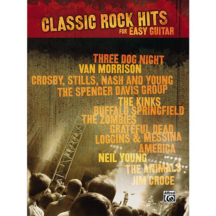 AlfredClassic Rock Hits Easy Guitar Tab Songbook