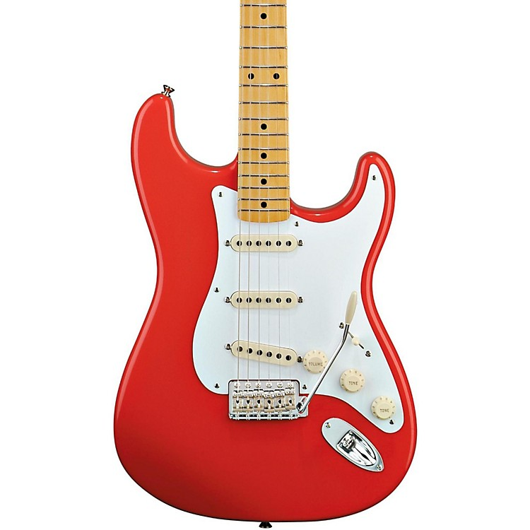 FenderClassic Series '50s Stratocaster Electric GuitarFiesta RedMaple Fretboard